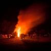 Beech Bonfire 1 © Steve Gregory 2014