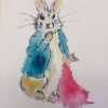 Rabbit (Watercolour) Sandra Casey 2016