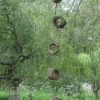 Hanging logs