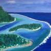 Blue Lagoon (acrylic) © Ann Bishton 2016