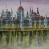 River Danube - watercolour by Ann © 3