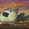 Sydney Harbour Bridge - watercolour by Ann ©