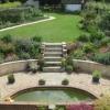 The garden now