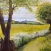 Summer Meadow (acrylic) © Sue Daines 2015