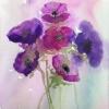 Anemones (acrylic) © Sue Daines 2015
