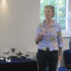 Sarah introducing the Judges and explaining about the 3 new trophies this year