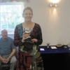 Sheila winning the Polly Chiverton Cup