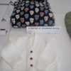 Craft - A knitted or crocheted article