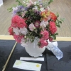 Floral Art - a nursery rhyme - Ring a ring a Roses
