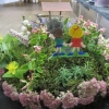 Floral Art - a Nursery Rhyme - Jack and Jill went up the hill