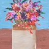 Cut Flowers in Stone Jar © Chris Davies 2014