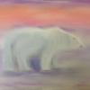 Polar Bear (Pastel) Jennie Revell © 2015