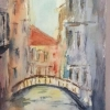 Bridge 2 (watercolour) by Sonia Hennelly 2016