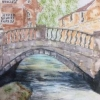 Bridge (watercolour) by Sonia Hennelly 2016