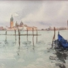 Venice (watercolour) by Sonia Hennelly 2016