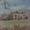 Chawton House (Watercolour) © by Sue Robinson 2016
