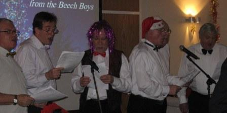 The Beech Boys kicked off the evening's entertainment...