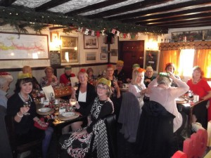 Xmas lunch at The Yew Tree small