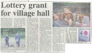 Article in the Alton Herald
