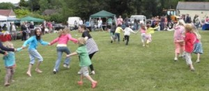 Children's races at the Village Fete