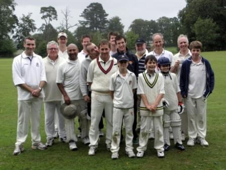 The Beech Village Cricket Squat 2010