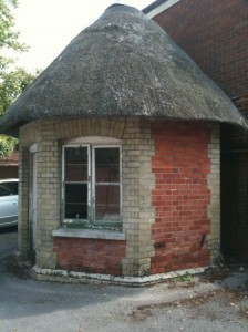 Dairy house in Lloyds Bank car park