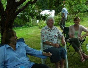 Judy, Anna and Sue