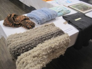 The Textiles table