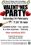 Have you got your Valentine's Party tickets yet?