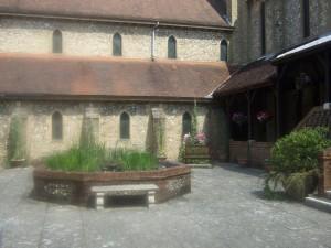 Cloister garden 1