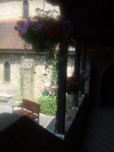 Cloister garden 4