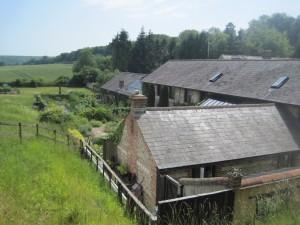 Doug and Suzy Palmer's house at Warren Farm