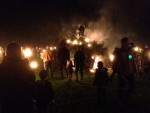 Record turnout for Village Bonfire last Saturday!