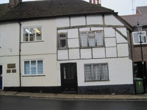 The 2nd house to be built in Alton, in Amery Street