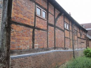 The old building alongside the Wey, off the High Street