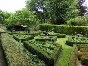 Wonderful architecture in the Topiary Garden