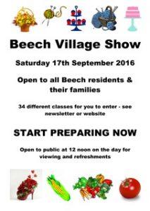 Beech Village Show
