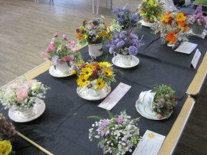 Floral Arrangement in a Teacup