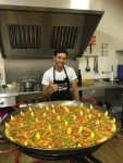 First new 100 Club winner with paella at July's Social