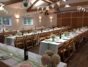 Beech Village Hall is your perfect wedding venue, with space to seat 120 people.
